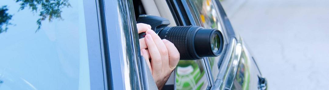 Наблюдение за человеокм из авто в Симферополе