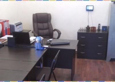 Один из рабочий кабинетов  офиса DASC в Симфеполе вид 2