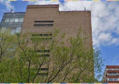 Здание офисного центра ПолиПромТорг, где располагается представитель DASC, район Коньково (ЮЗАО) г. Москвы