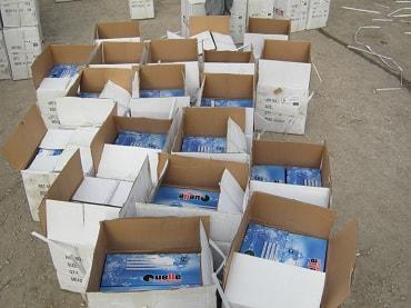 Накрыть склад поддельных товаров в Харькове