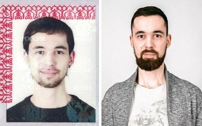 Опознать человека по фото в паспорте (2)