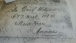 Поиск в архивах Америки